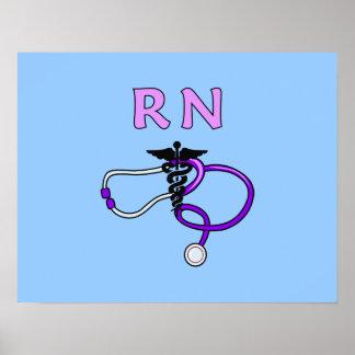 RN Stethoscope Print