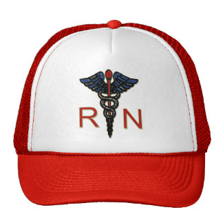 RN With Caduceus Cap