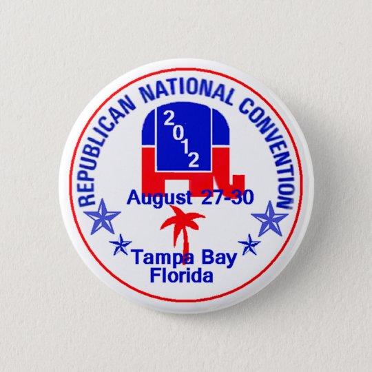 RNC Convention 6 Cm Round Badge