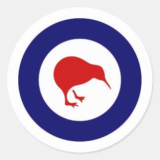 Rnzaf roundel, New Zealand Classic Round Sticker