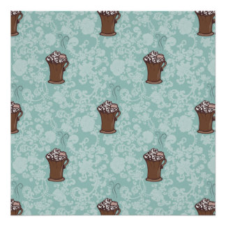 Ro-Cocoa, patterned print