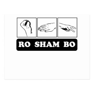 Ro Sham Bo Post Card