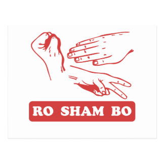Ro Sham Bo Postcards