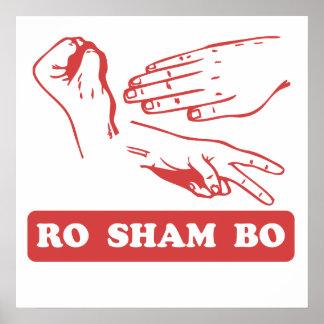 Ro Sham Bo Print