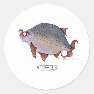 Roach fish, tony fernandes sticker