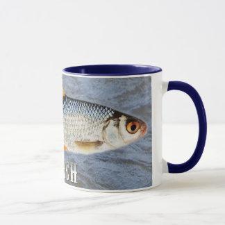 Roach Freshwater Fish, With Water Background Image Mug