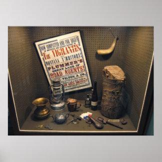 Road Agent Henry Plummer Diorama - Montana Poster