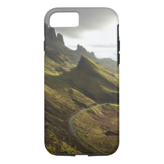 Road ascending The Quiraing, Isle of Skye, iPhone 8/7 Case
