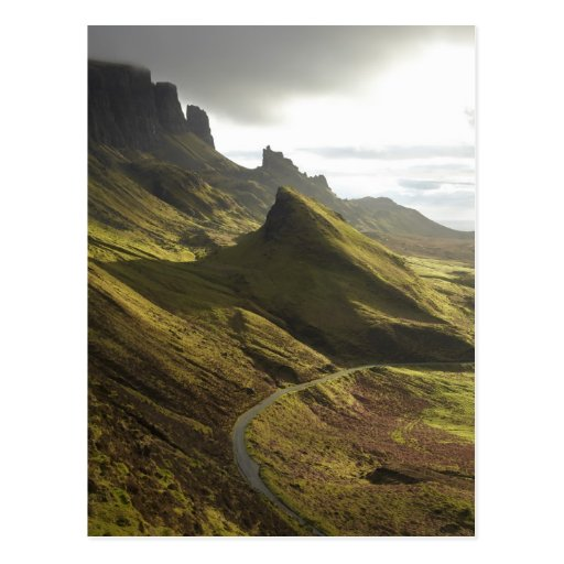 Road ascending The Quiraing, Isle of Skye, Post Cards