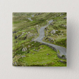 Road between Ballaghacahreen and Caherkeen. 15 Cm Square Badge
