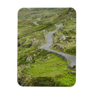 Road between Ballaghacahreen and Caherkeen. Rectangular Magnet