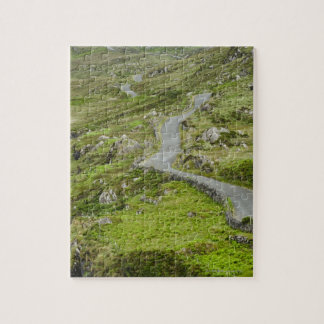 Road between Ballaghacahreen and Caherkeen. Jigsaw Puzzle