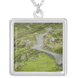 Road between Ballaghacahreen and Caherkeen. Silver Plated Necklace