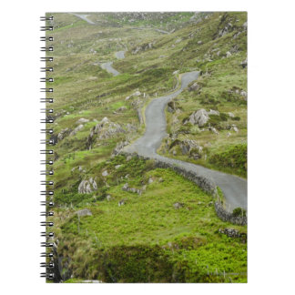Road between Ballaghacahreen and Caherkeen. Spiral Notebook