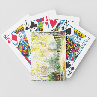 Road Bicycle Playing Cards