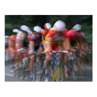 Road bicycle racing post cards