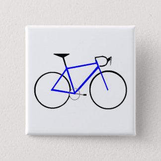 Road Bike 15 Cm Square Badge