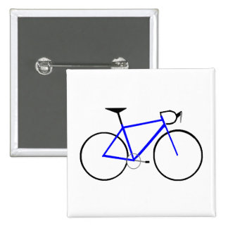 Road Bike 15 Cm Square Badge