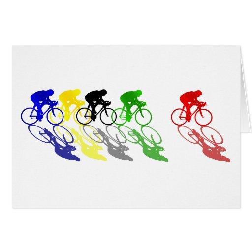 Road Bike Road Racing  Cycling Cards