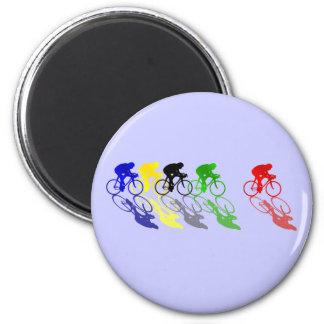 Road Bike Road Racing  Cycling Fridge Magnet
