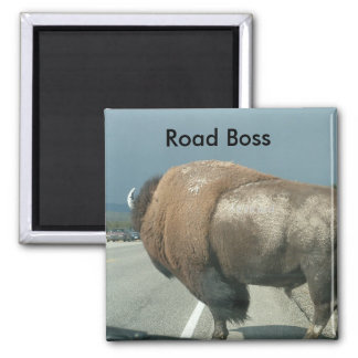Road Boss Magnet