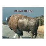 ROAD BOSS postcard