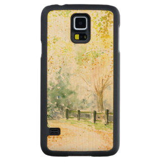 Road Carved Maple Galaxy S5 Case