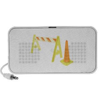 Road Caution Mini Speakers
