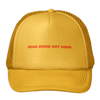 ROAD DOGS HOT DOGS CAP