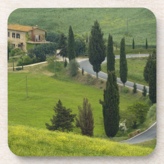 Road from Pienza to Montepulciano, 2 Coasters