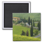 Road from Pienza to Montepulciano, 2 Magnet