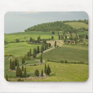 Road from Pienza to Montepulciano, Mouse Pad