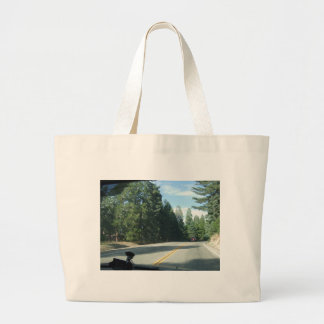 Road Goes On Tote Bags