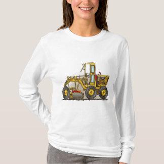 Road Grader Construction Ladies Hoodie