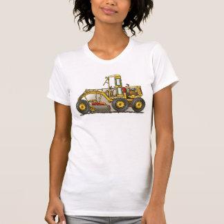 Road Grader Construction Ladies Tank Top