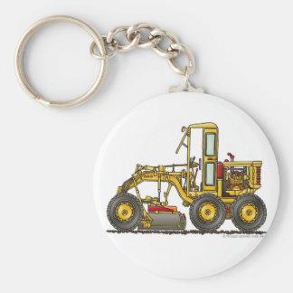 Road Grader Dirt Scraper Construction Key Chains