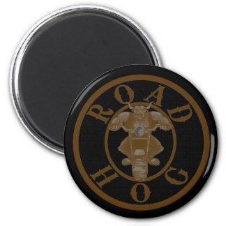 Road Hog 6 Cm Round Magnet