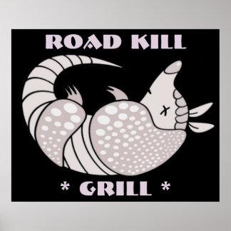 Road Kill Grill Poster Print