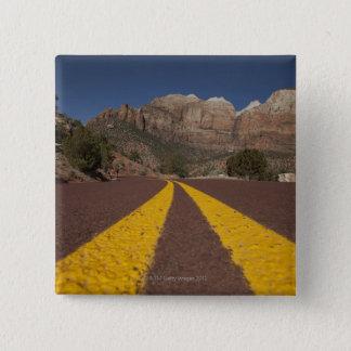 Road-kill viewpoint 15 cm square badge