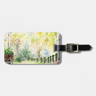 Road Luggage Tag