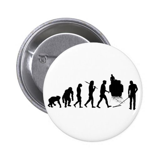 Road maintenance road construction tees 6 cm round badge