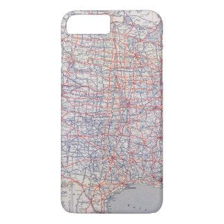 Road map United States iPhone 8 Plus/7 Plus Case