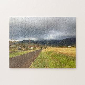 Road Near Lahaina, Maui, Hawaii Jigsaw Puzzle