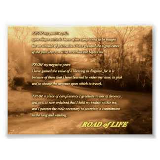 ROAD of LIFE Poster