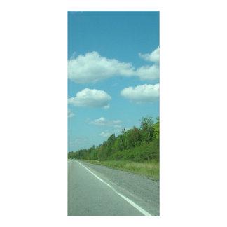 road,Ontario,Canada Rack Card Template
