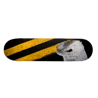 Road Painted Yellow Lines Skateboard Deck