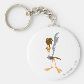 ROAD RUNNER™ Artistic Basic Round Button Key Ring