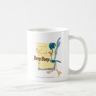 ROAD RUNNER™ Beep, Beep Basic White Mug