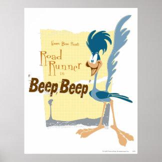 ROAD RUNNER™ Beep, Beep Poster