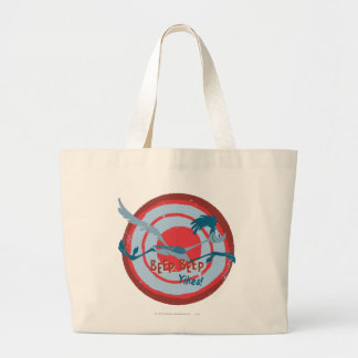 ROAD RUNNER™ Beep Beep Yikes! Large Tote Bag